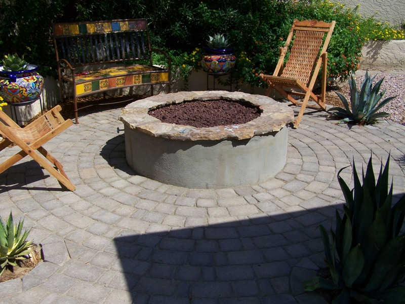 Click to Enlarge - Custom BBQ's : Fire Pits : Fireplaces : Gilbert, AZ