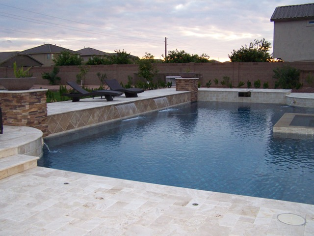 Custom Pools Spas and Water Features by National Pools ...