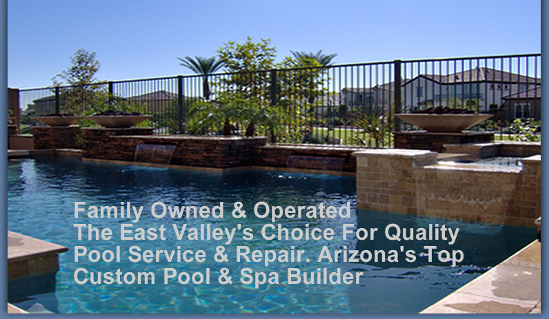 Custom Pool Builder   Pool Cleaning   Mesa   Gilbert   Chandler